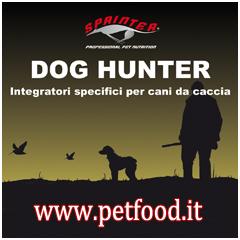 Integratori per cani da caccia